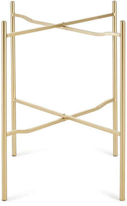 GG Collection G G Collection Folding Mid-Height Butler Round Medium Tray Table Legs
