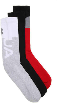 Under Armour Phenom Graph Crew Socks - 3 Pack - Men's