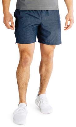 """Rhone Men's Guru 7"""" Lined Active Shorts, Navy"""
