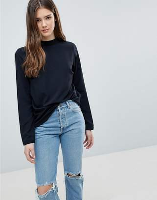Blend She High Neck Sweatshirt