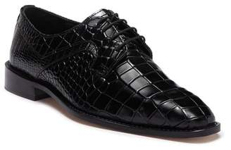 Stacy Adams Triolo Croc Embossed Leather Derby