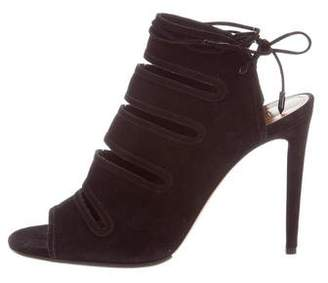 Aquazzura Sloane Cage Sandals