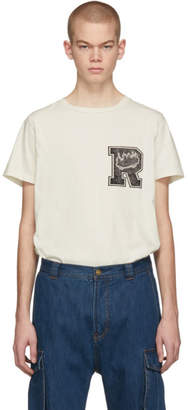 Remi Relief Off-White Special Finish T-Shirt
