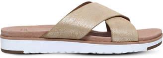 UGG Kari metallic leather sandals