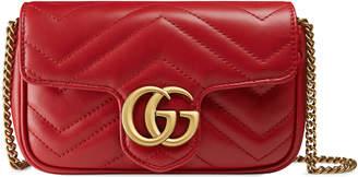 GG Marmont matelassé leather super mini bag $890 thestylecure.com
