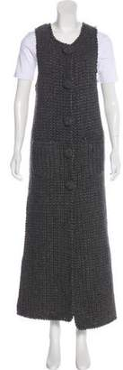Gerard Darel Wool Long Vest