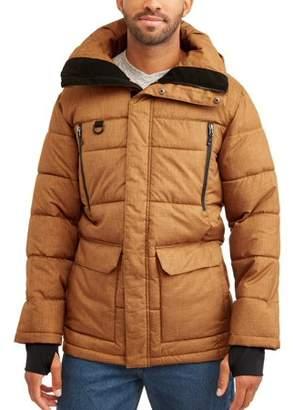 Swiss+Tech Men's Parka Jacket, up to size 5XL