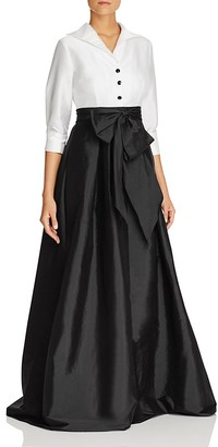 Adrianna Papell Layered-Look Gown $208 thestylecure.com