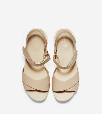 Cole Haan Women's ZERGRAND Crisscross Sandal