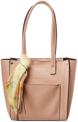 London Fog Bloomfield Shopper With Scarf