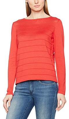 Betty Barclay Women's Knitted Jumper, (Coral Red), 8 (Size:34)