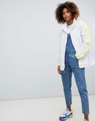 adidas fashion league vintage jacket in white