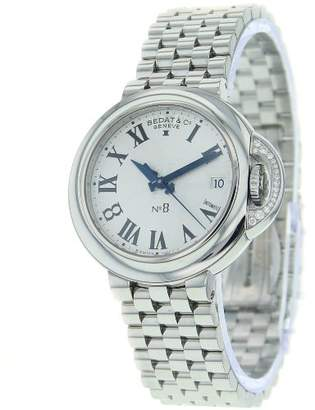 Bedat & Co Bedat 'No. 8' Swiss Automatic Stainless Steel Dress Watch