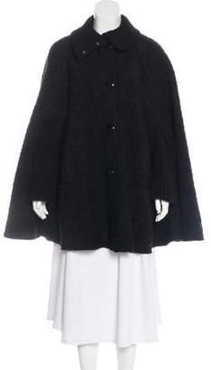 Dolce & Gabbana Wool-Blend Cape