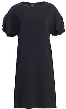 Akris Punto Women's Ruffle Sleeve Shift Dress