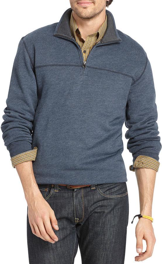 Arrow Sueded Fleece Quarter-Zip Pullover