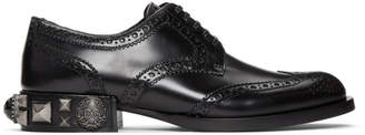 Dolce & Gabbana Black Studs and Pearls Brogues