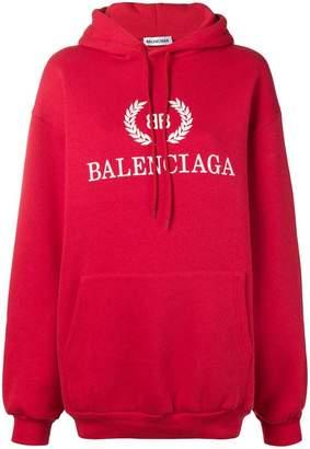 Balenciaga (バレンシアガ) - Balenciaga BB ロゴ パーカー