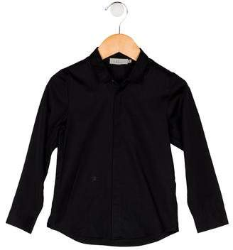 Christian Dior Boys' Collar Button-Up Shirt
