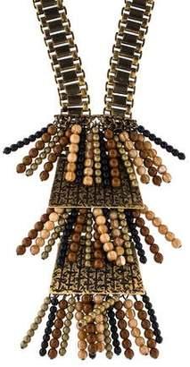 Etro Bead Pendant Necklace