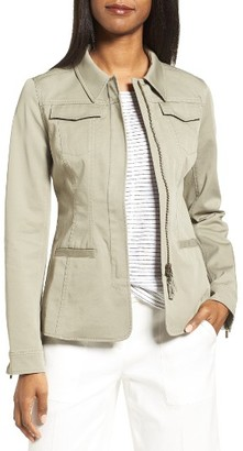 Women's Nordstrom Collection Fitted Field Jacket $299 thestylecure.com