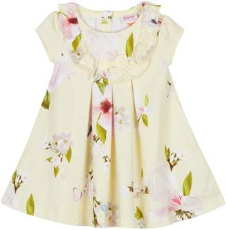 Next Girls baker by Ted Baker Floral Print All Over Jersey Swing Dress