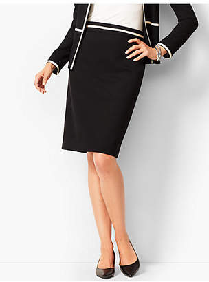 Talbots Italian Luxe Knit Pencil Skirt