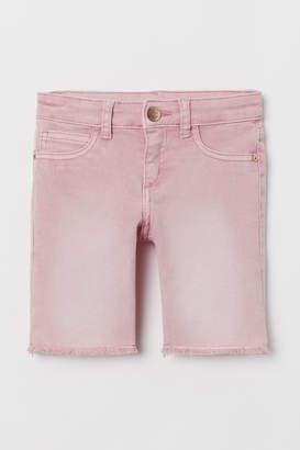 H&M Long twill shorts
