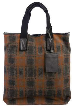 Marc by Marc Jacobs Printed Canvas Satchel