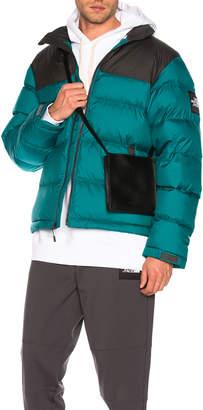 The North Face Black Box 1992 Nuptse Jacket in Everglade & Asphalt Grey | FWRD