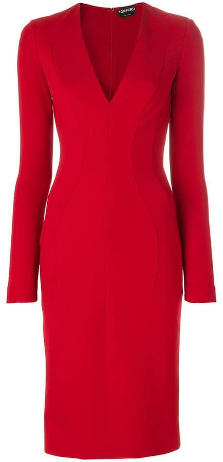 Tom Ford fitted midi dress