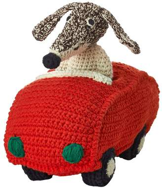 Anne Claire Petit Hand-crocheted Cotton Driving Dog