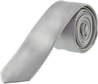 Dolce & Gabbana Light Grey Silk Tie
