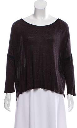 Comptoir des Cotonniers Knit Three-Quarter Sleeve Top