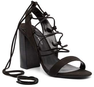 Tony Bianco Dani Block Heel Strappy Sandals