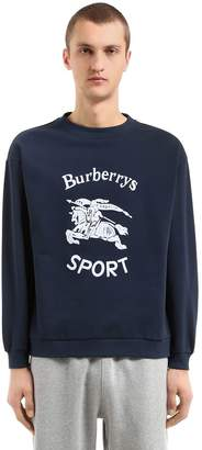 Burberry Runway Cotton Blend Sweatshirt