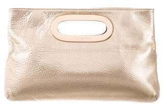 MICHAEL Michael Kors Leather Berkley Clutch