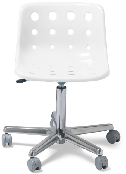 Container Store Polo Desk Chair Clear