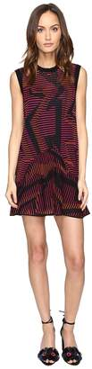 M Missoni Colorful Geo Knit Dress Women's Dress
