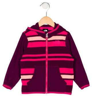 The North Face Girls' Hooded Zip-Up Jacket
