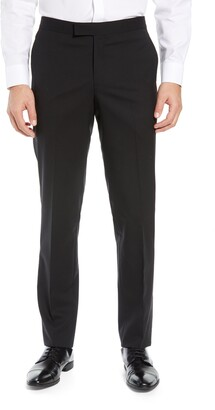 Nordstrom Slim Fit Stretch Wool Tuxedo Dress Pants