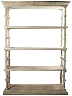 """CFC Reclaimed 62"""" Roman Bookcase - Unfinished"""