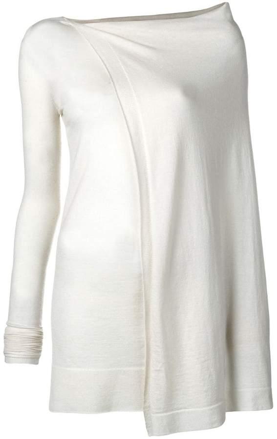 cashmere long jumper