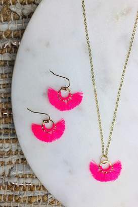 Bohemians Neon Mini Mariah Necklace