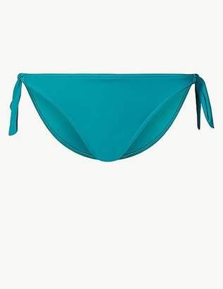 Marks and Spencer Tie Side Hipster Bikini Bottoms