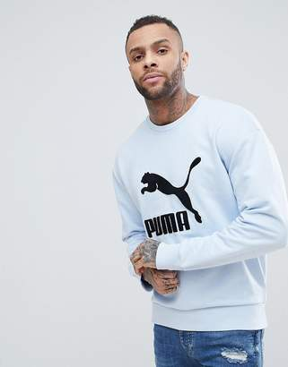 Puma Vintage Toweling Logo Sweatshirt