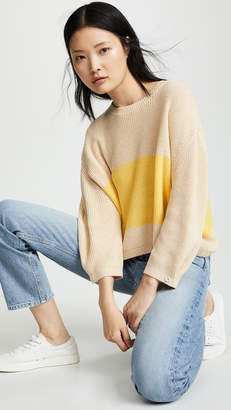 Knot Sisters Striped Sweater