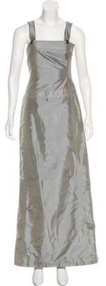 Rene Lezard Silk Maxi Dress