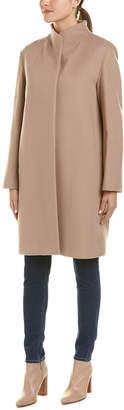 Cinzia Rocca Icons Long Wool & Cashmere-Blend Coat