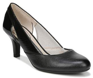 LifeStride Phoenix Snake Embossed Pump - Wide Width Available